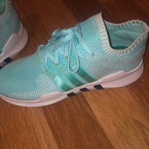 Blue/ mint green Nike gym shoes